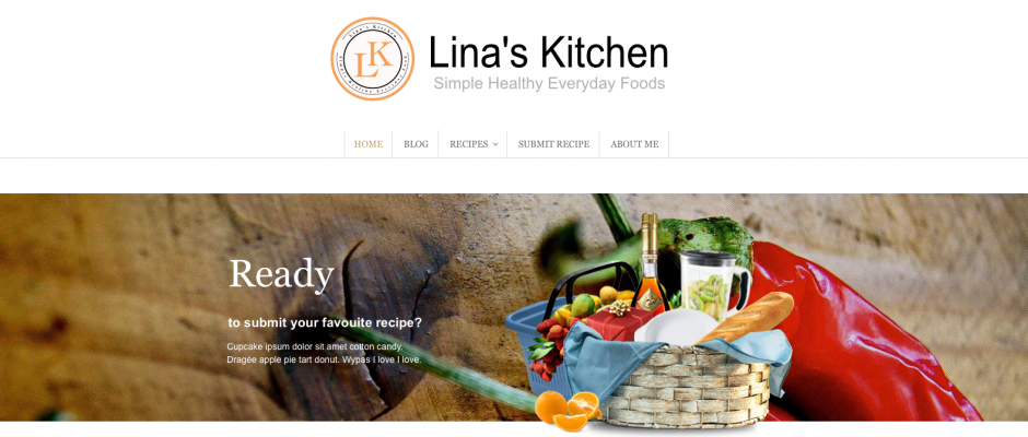 My new Simple Foods Website